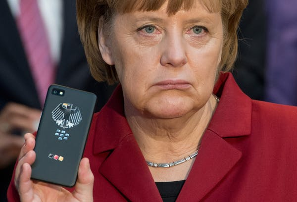 We know the NSA tapped German chancellor Angela Merkel's phone thanks to a whistleblower and journalists. EPA/Julian Stratenschulte