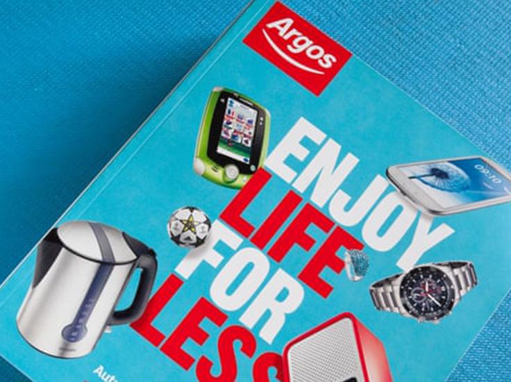 Argos catalog 2012