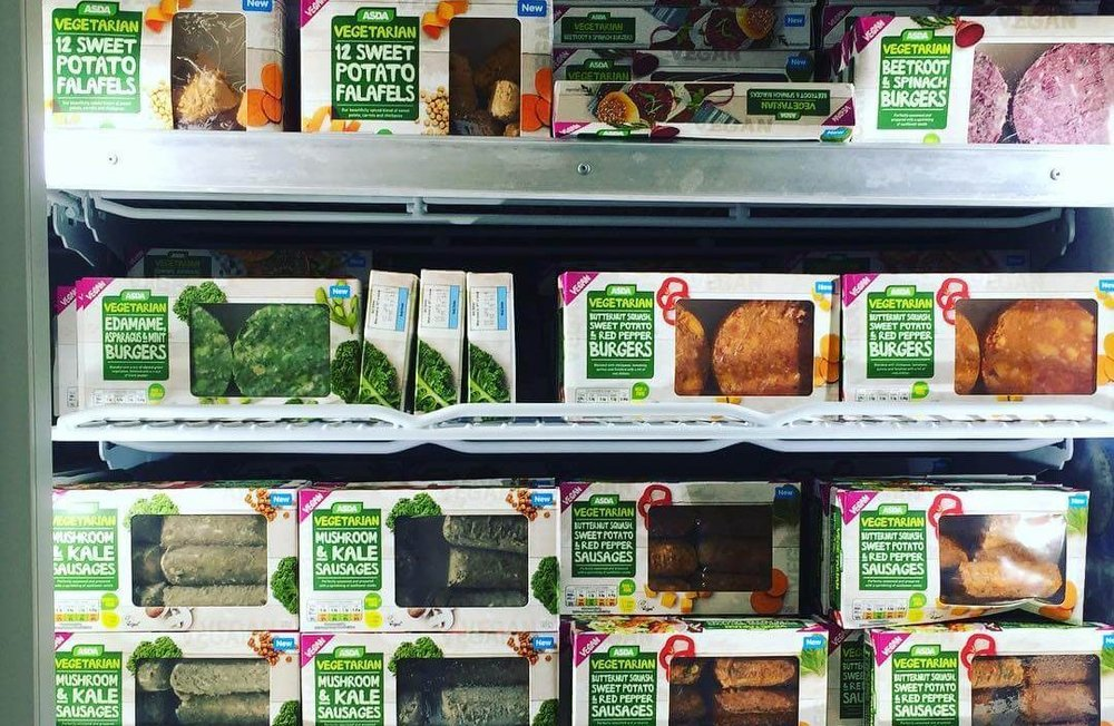 Asda Is Rolling Out Vegan Aisles In 359 Stores