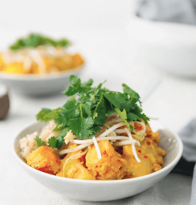 Vegan curries