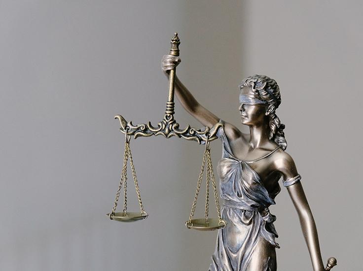 Justice is blind, Unsplash