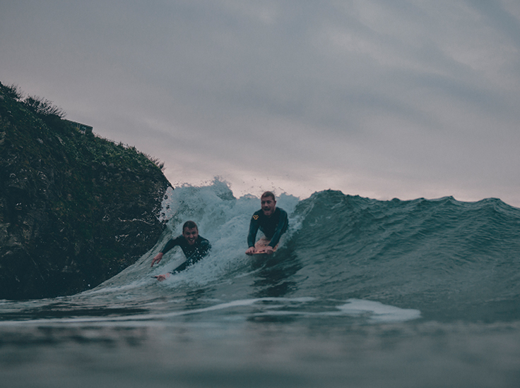 Dick Pearce - bellyboards - surf riding