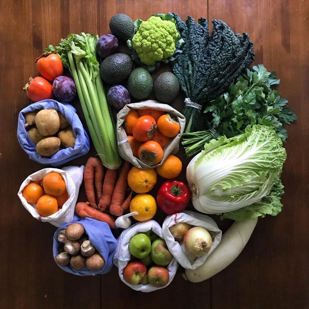 Fruit and veg, Anne-Marie Bonneau, Zero Waste Chef