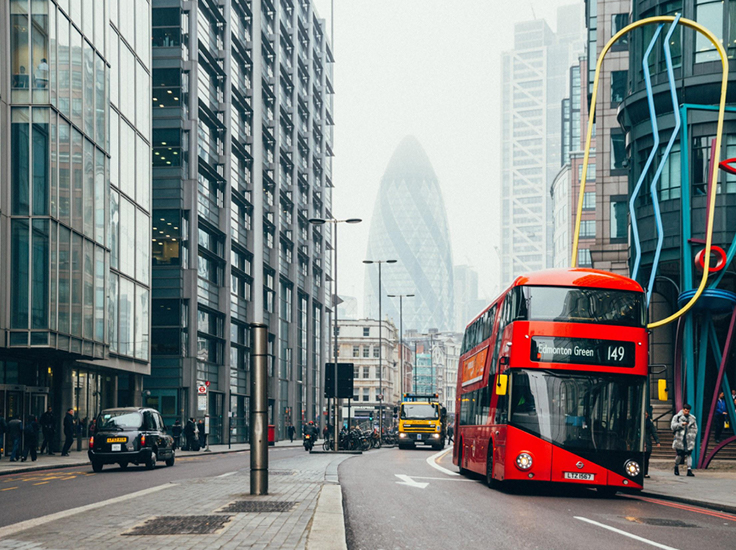 A London street scene