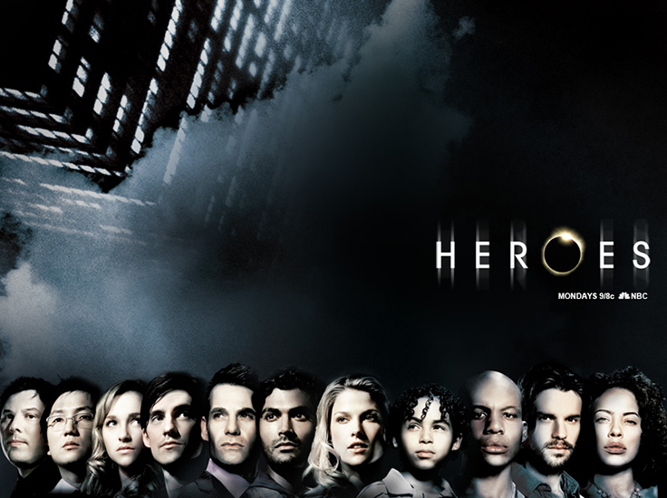 NBCs hit show Heroes is streaming on BBC iPlayer from 2 Aug
