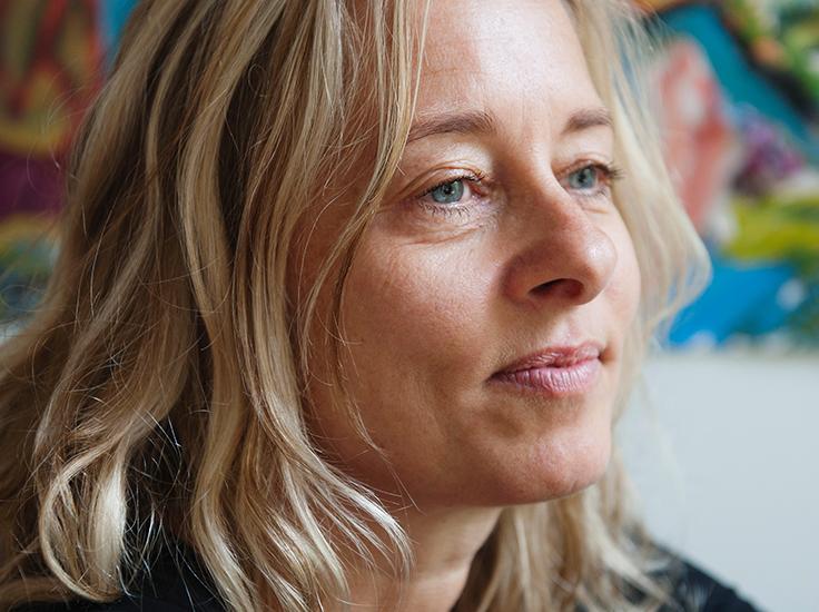Inge Wallage portrait