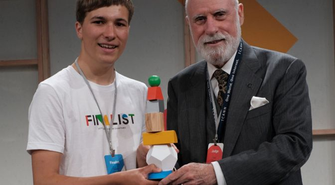 An Irish teen created a way to extract plastic with magnets