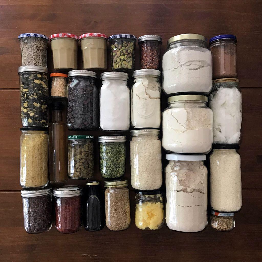 Jars, Anne-Marie Bonneau, Zero Waste Chef