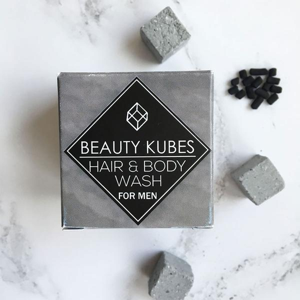 Beauty Kubes Hair & Body Wash for Men
