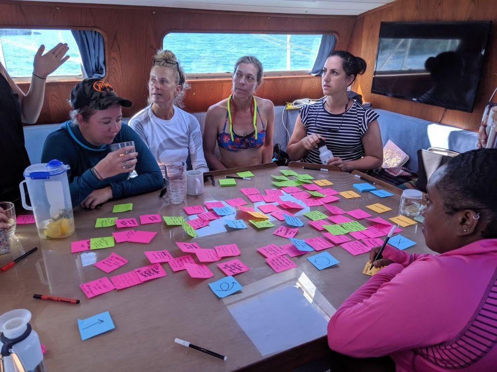 Onboard workshop eXXpedition Leg 3