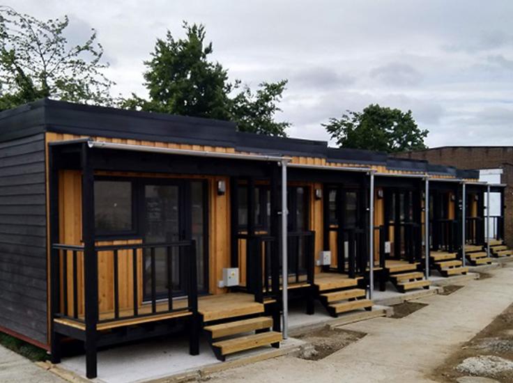 Micro Houses in Cambridge