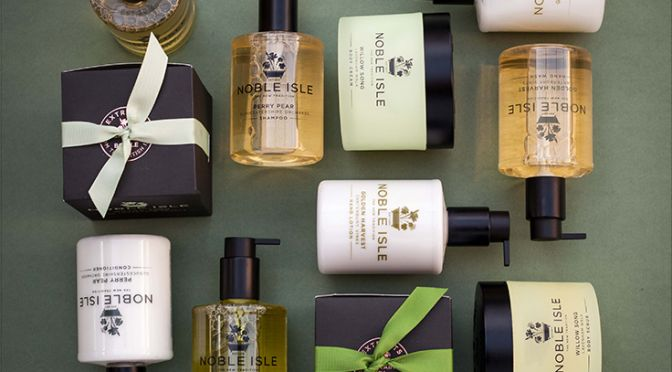 Noble Isle - vegan, paraben-free and recyclable packaging