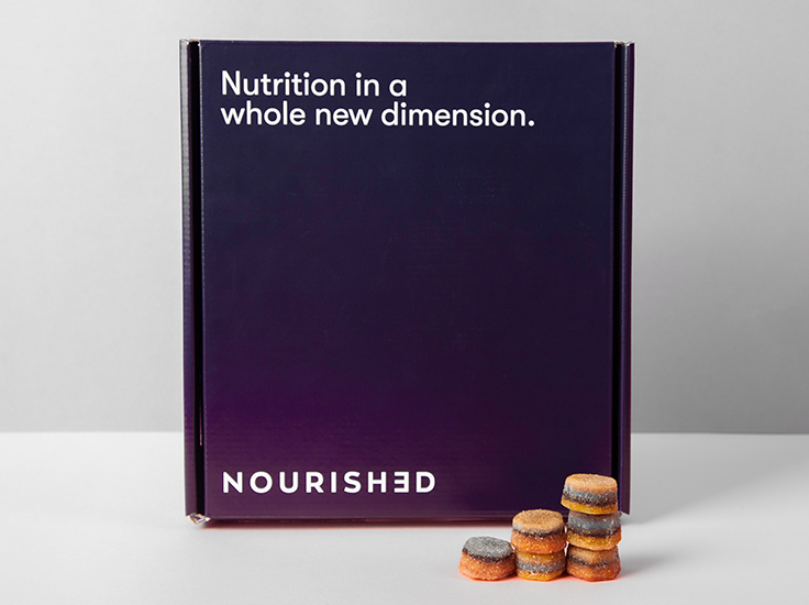 Nourished – Personalised, 3D printed vitamins