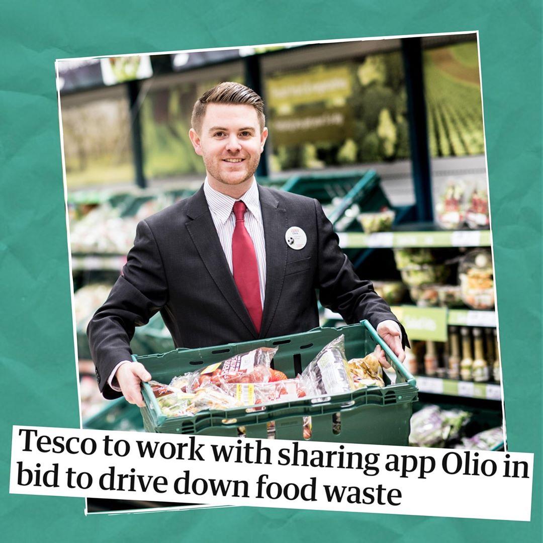 Avoiding food waste with Olio