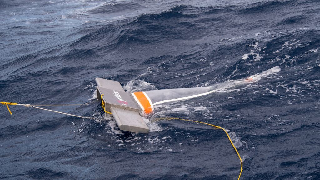 Manta trawls on eXXpedition Leg 1