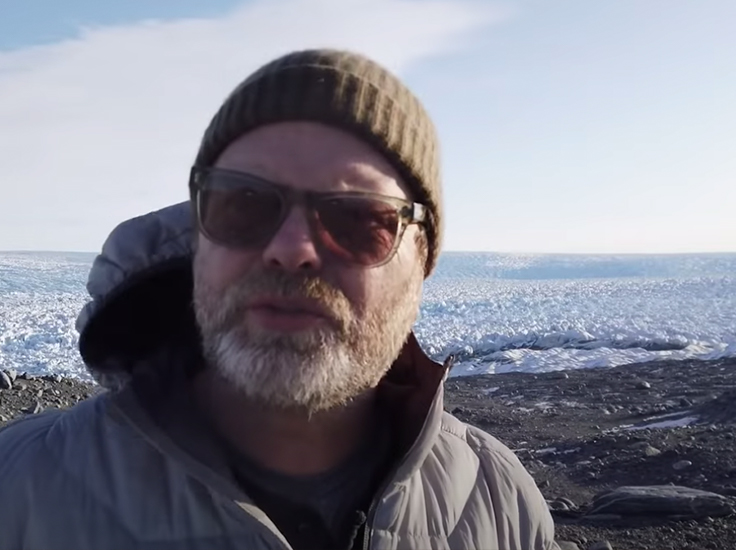 Rainn Wilson, An Idiot's Guide to Climate Change