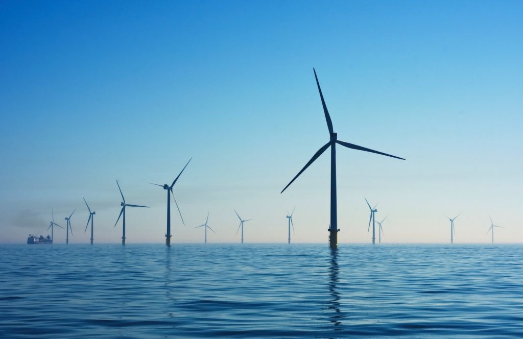 Rampion Offshore Wind Farm, United Kingdom.