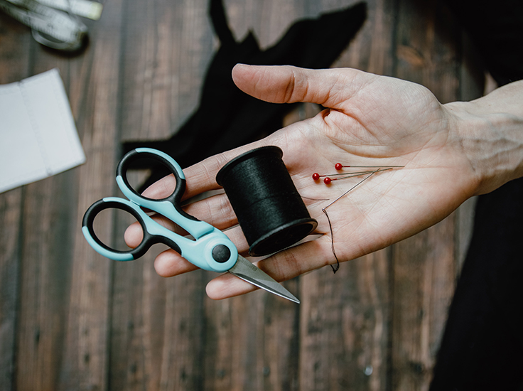 Sewing Supplies - Kelly Sikkema, Unsplash