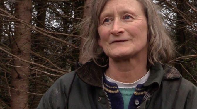 Sionad Jones, self-described protector of the environment