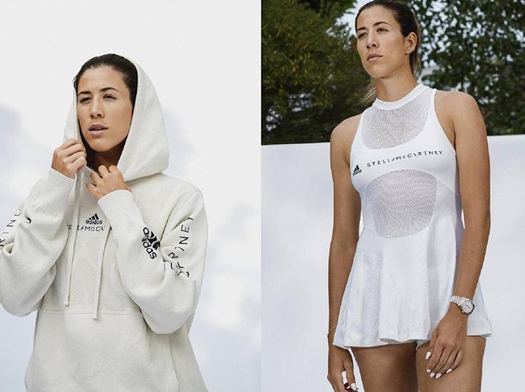 Stella McCartney x adidas create biodegradable tennis wear