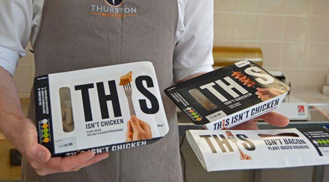 Alastair Angus at Thurston Butchers in Suffolk offers vegan alternatives
