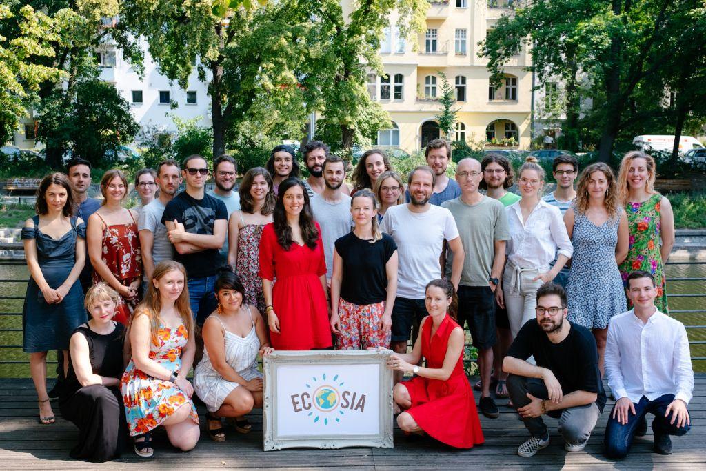 The Ecosia team