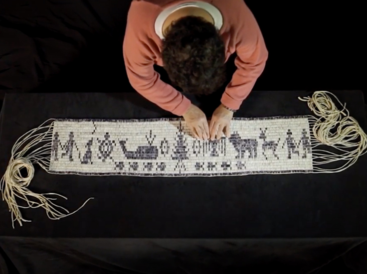 The Making of the Wampum Belt