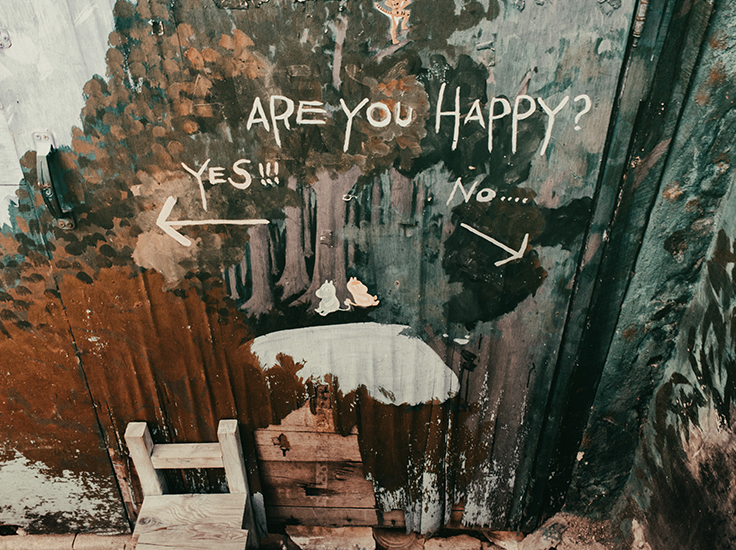 Are you happy? Yes or No...