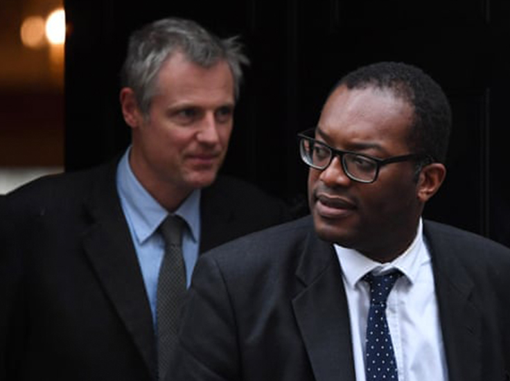 Zac Goldsmith (left) and Kwasi Kwarteng are part of the team representing the UK in next year's talks. Photograph: Chris J Ratcliffe/Getty Images