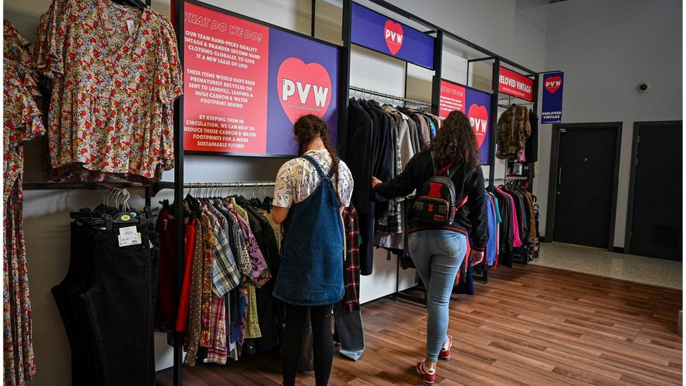 Sustainable Fashion Comes to 50 Asda Stores In Vintage Secondhand Pop-Ups