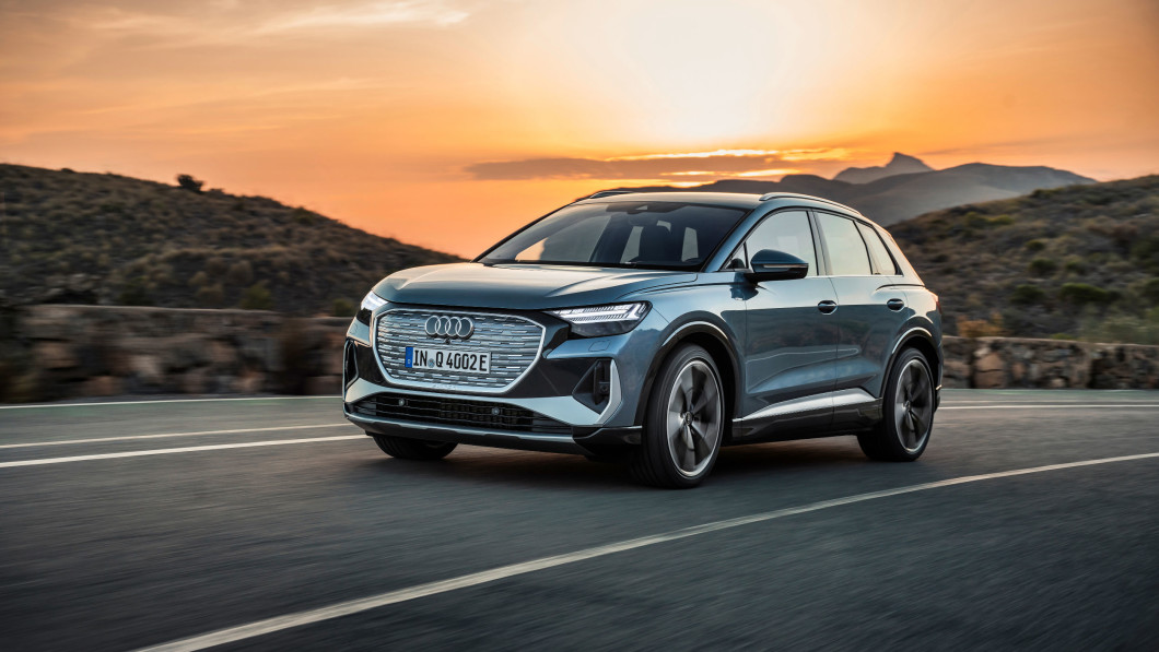 Audi Goes Leather-Free With New Compact All-Electric SUV