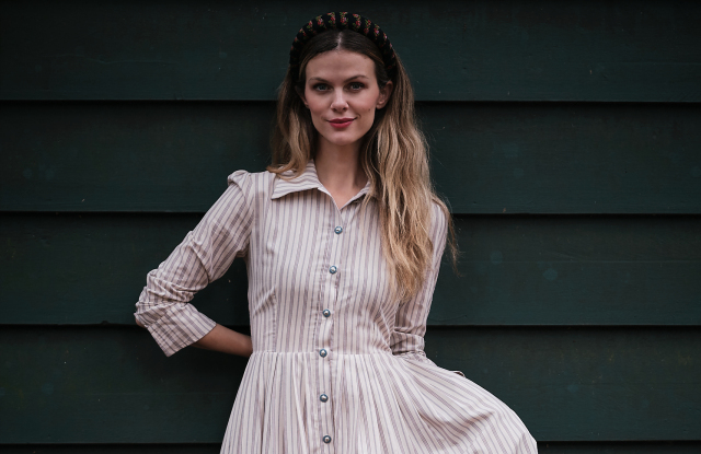 Supermodel Brooklyn Decker Just Launched a Sustainable Fashion Line Inspired By 'Bridgerton'