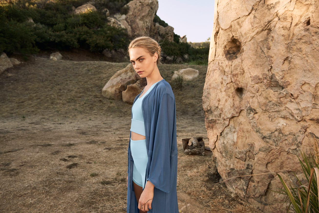 Puma and Cara Delevingne Launch Sustainable Yoga Collection