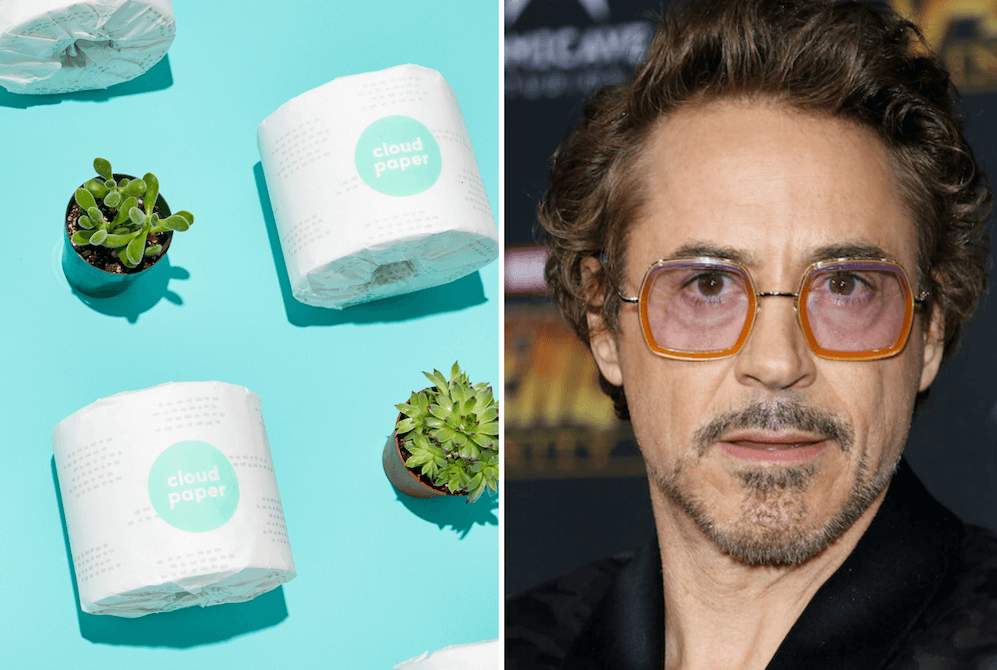 Robert Downey Jr. Wants to Talk About Your Unsustainable Toilet Paper Problem