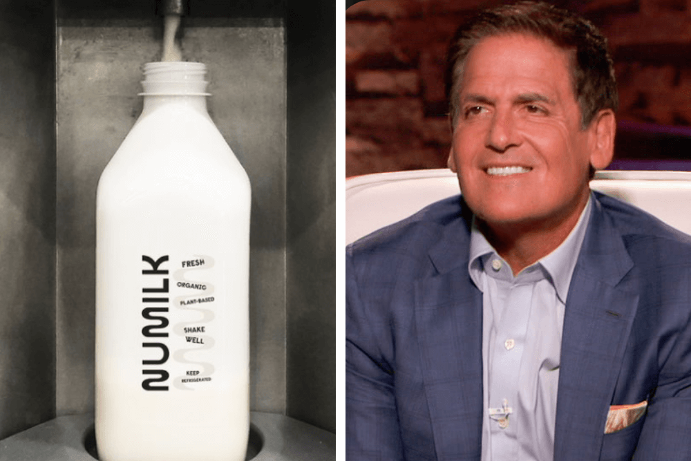 Shark Tank's Mark Cuban Invests $2 Million In a Zero-Waste Vegan Milk Concept