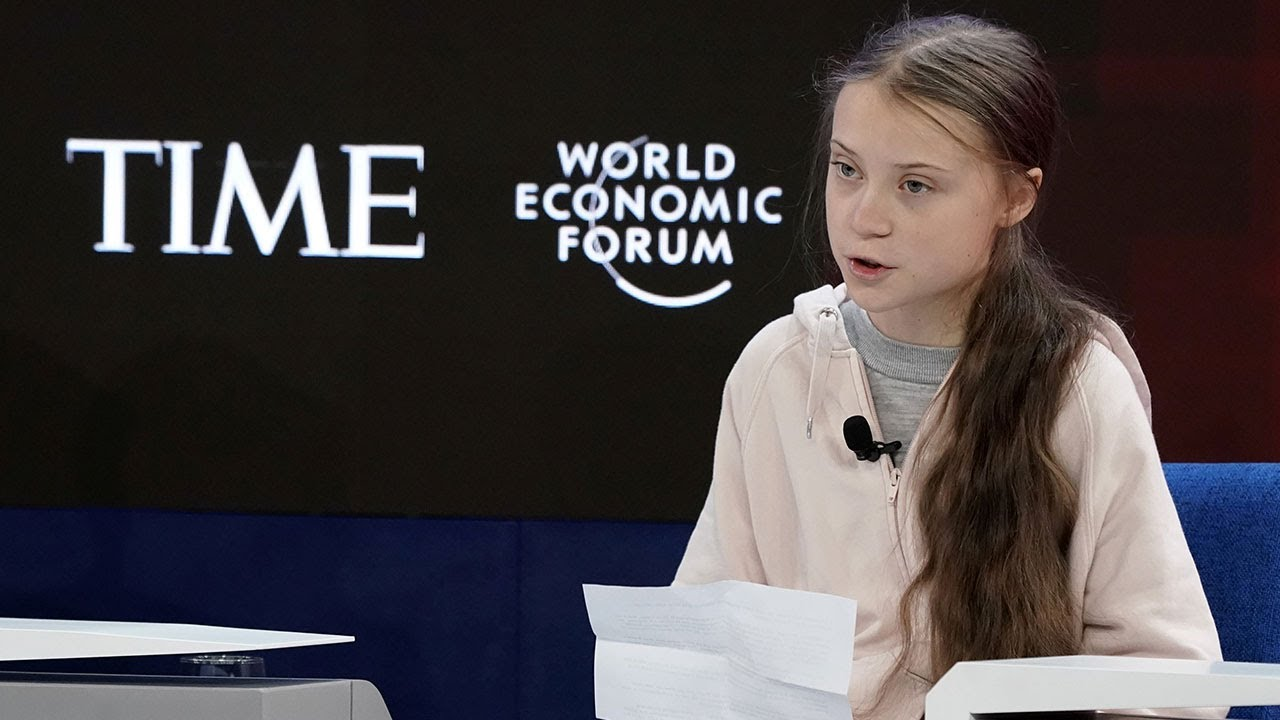 Greta Thunberg Condemns Global Elite for 'Blah, Blah, Blah' Climate Action