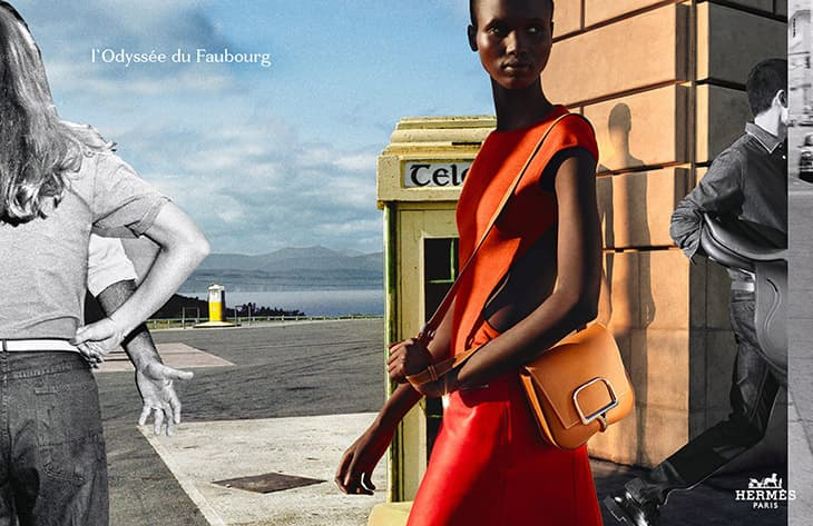 Hermès Goes Sustainable With Launch of Mushroom Leather Victoria Bag