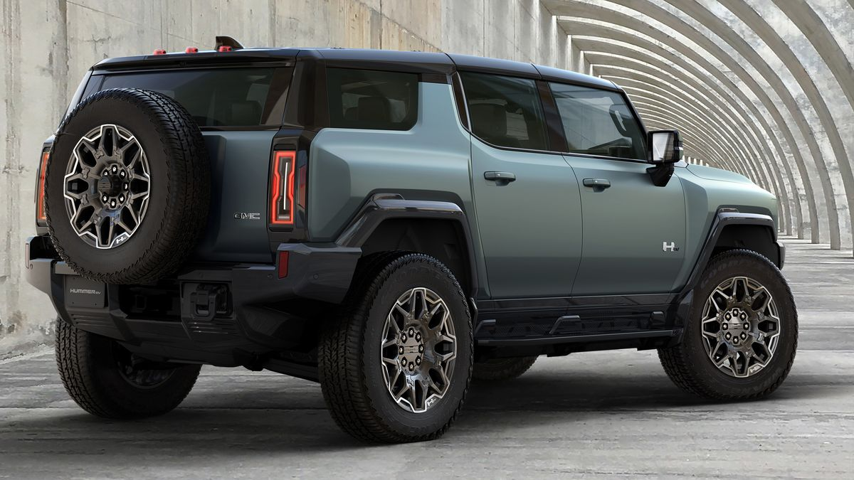 GM Releases First Peek of the All-Electric Hummer With a $100,000 Price Tag