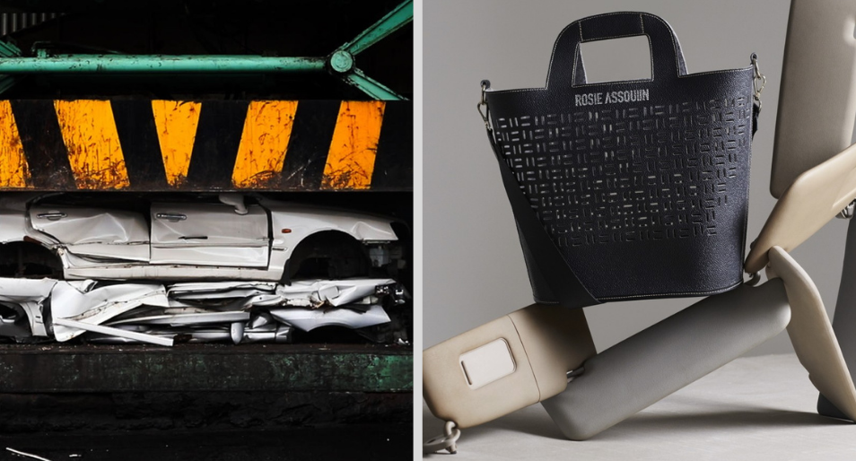 Hyundai Turns Car Scraps Into Sustainable Couture Fashion