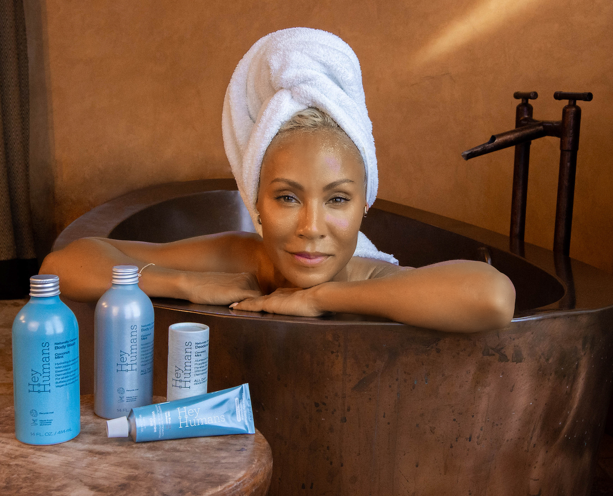 Jada Pinkett Smith Launches a Target Exclusive Gender-Neutral, Sustainable, Vegan Body Care Brand