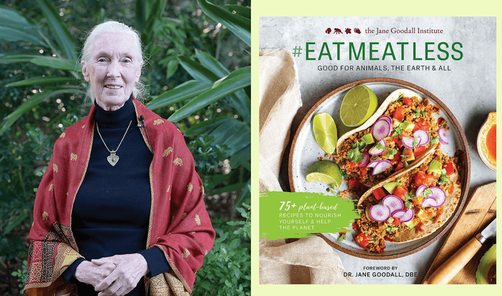 Jane Goodall's New Cookbook Will Help You Stop Eating Animals