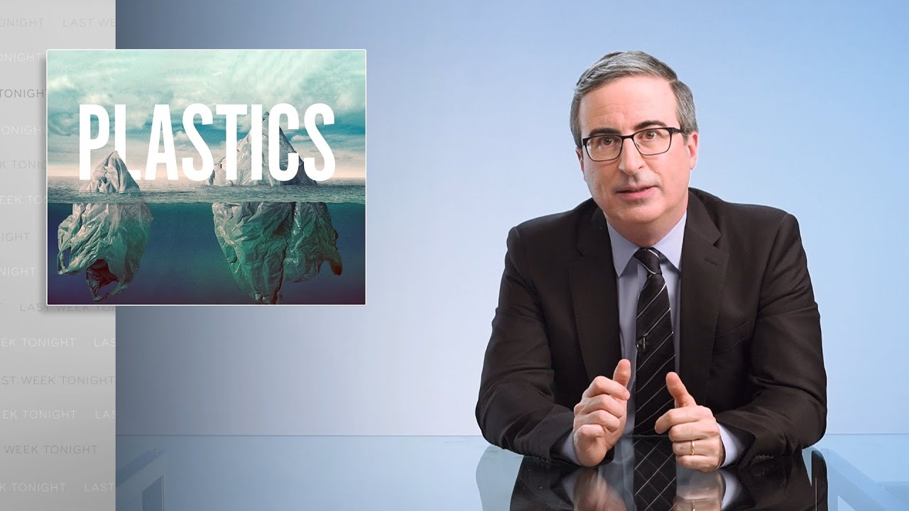 John Oliver Takes On Big Plastic: 'Lies Go Down Easier When You Want Them to Be True'