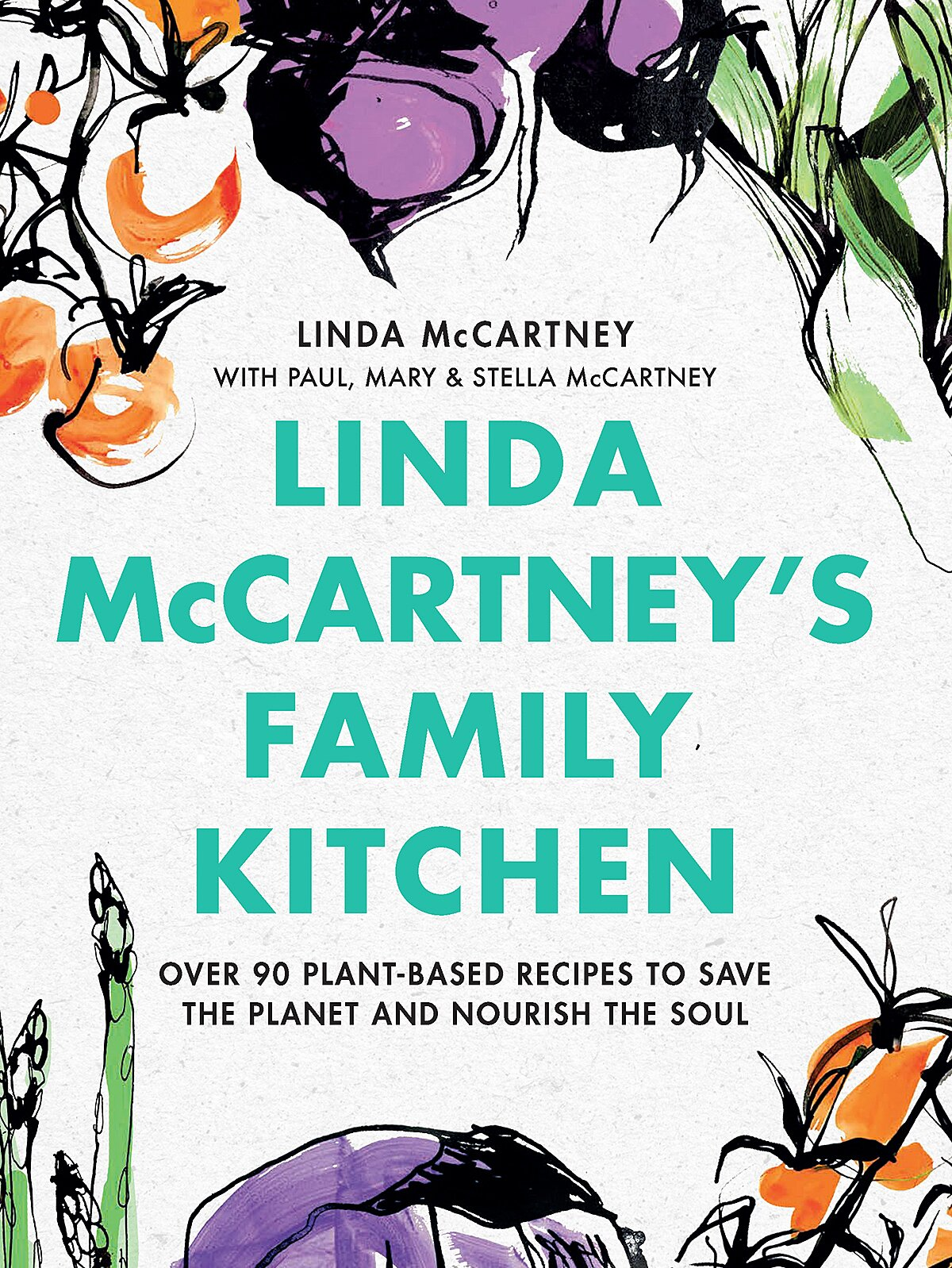 Sir Paul McCartney Releases Meat-Free Cookbook Celebrating Late Wife Linda