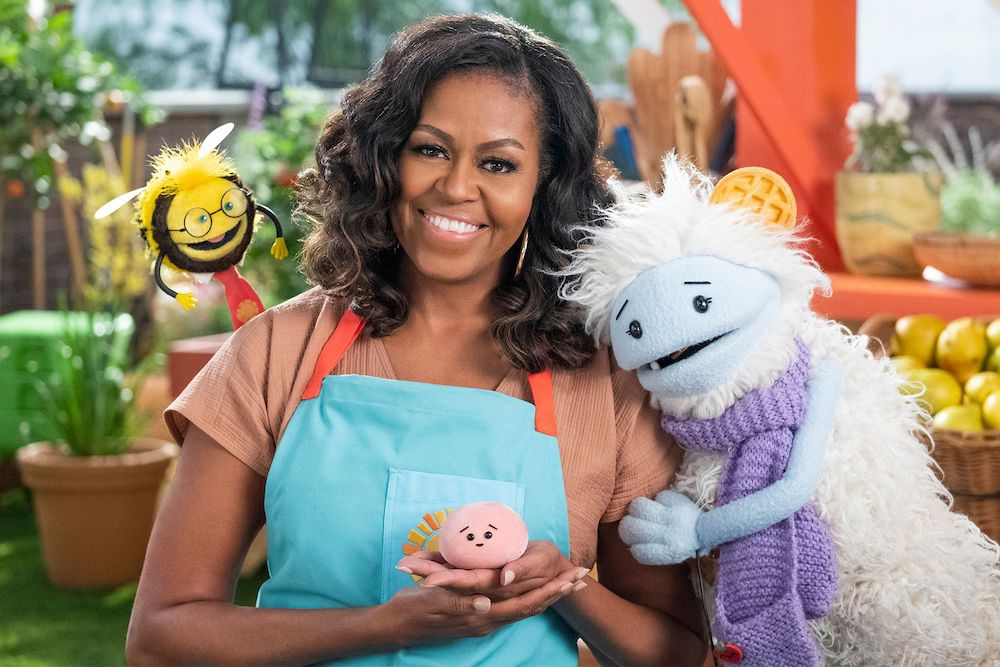 Michelle Obama to Host Veggie-Focused Netflix Cooking Show for Kids