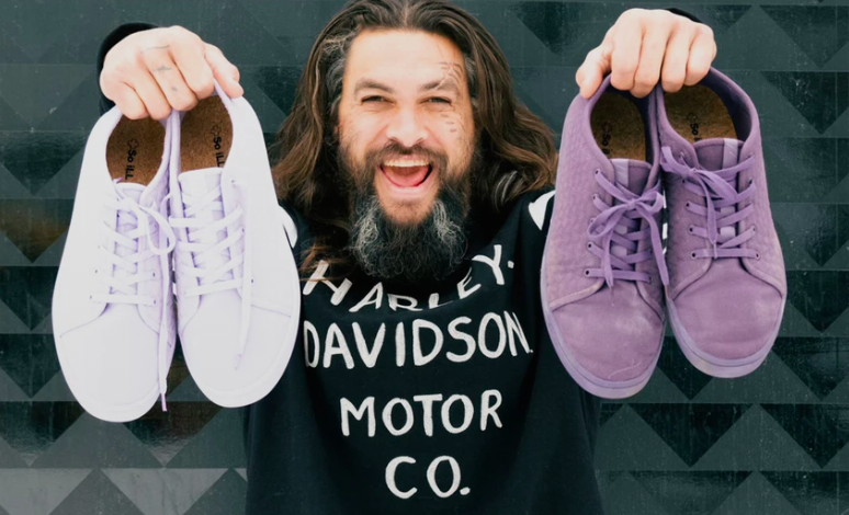 'Aquaman' Jason Momoa Just Launched a Sustainable Vegan Shoe Line