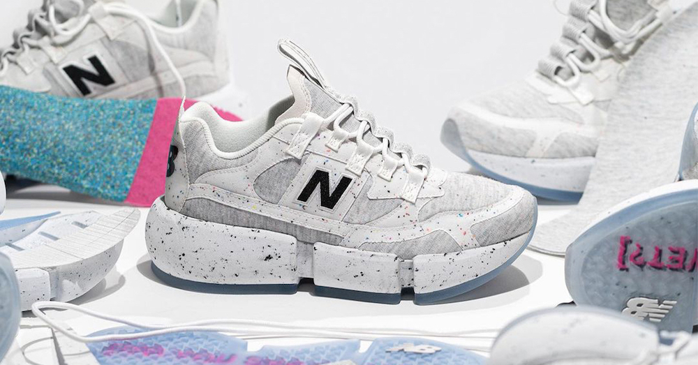 New Balance Sets 2030 Sustainability Targets With Upcycled Jaden Smith Vision Racers