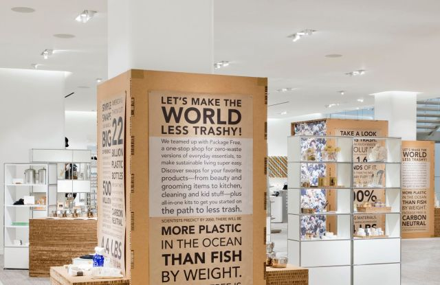 Nordstrom Goes 'Zero-Waste' for Earth Month
