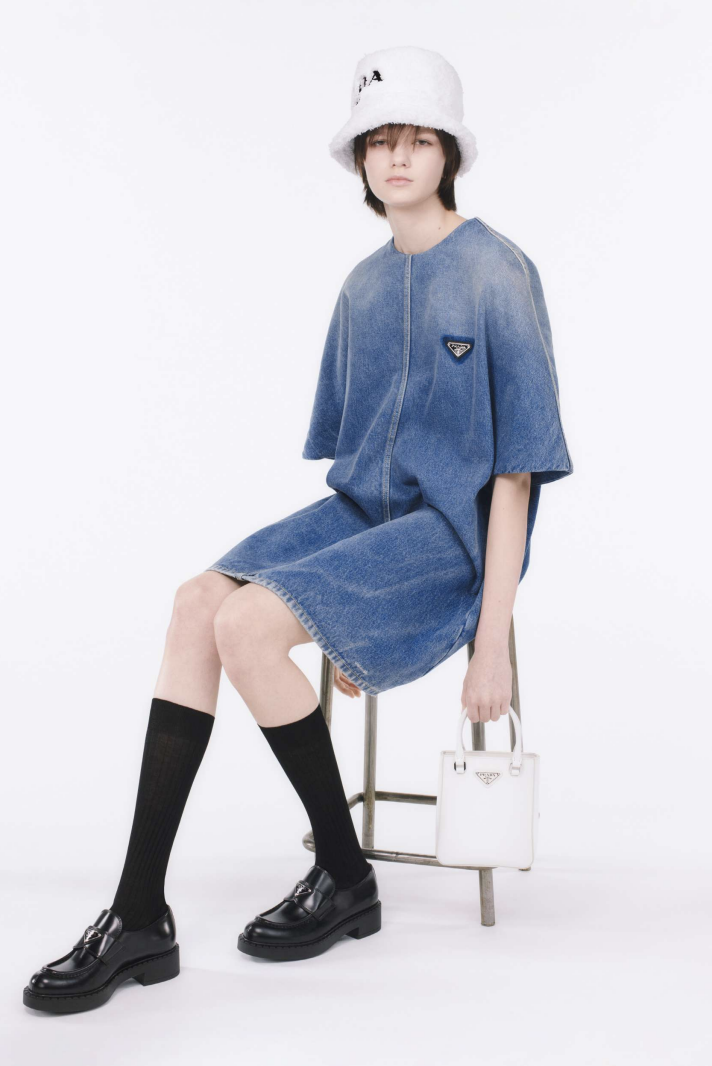 Prada Just Launched Its First Sustainable, All Organic Denim Line