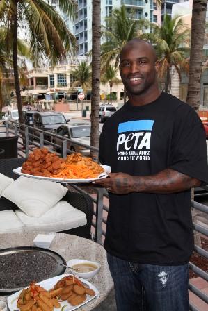 Ricky Williams, Vegan NFL Player