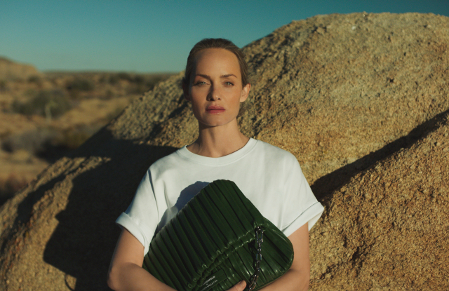 Karl Lagerfeld Launches First Sustainable Cactus Leather Bag By Amber Valletta
